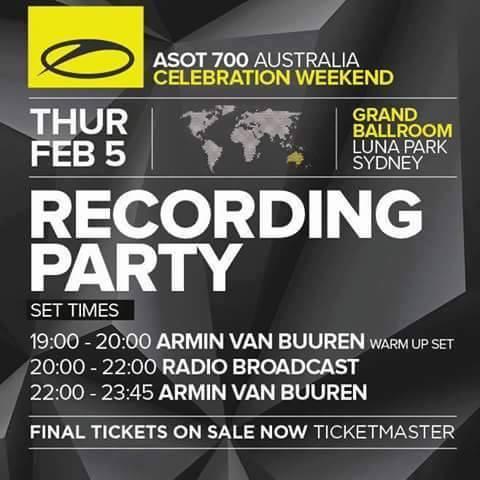 Armin van Buuren – A State Of Trance ASOT 700 Part 2 – 05-02-2015