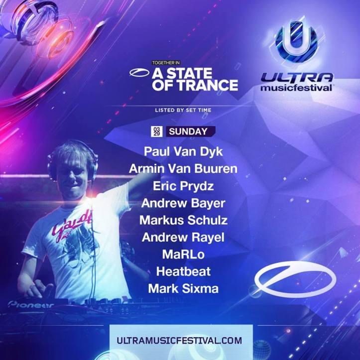 Armin van Buuren – Live @ ASOT 700 Festival, Ultra Music Festival 2015 (Miami)