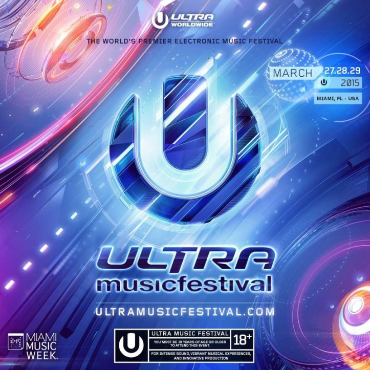 David Guetta – Live @ Ultra Music Festival 2015 (Miami)